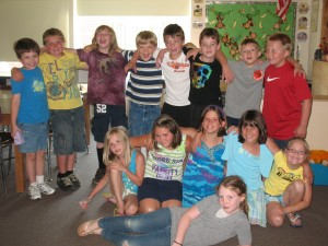 The Third Grade Class of 2012